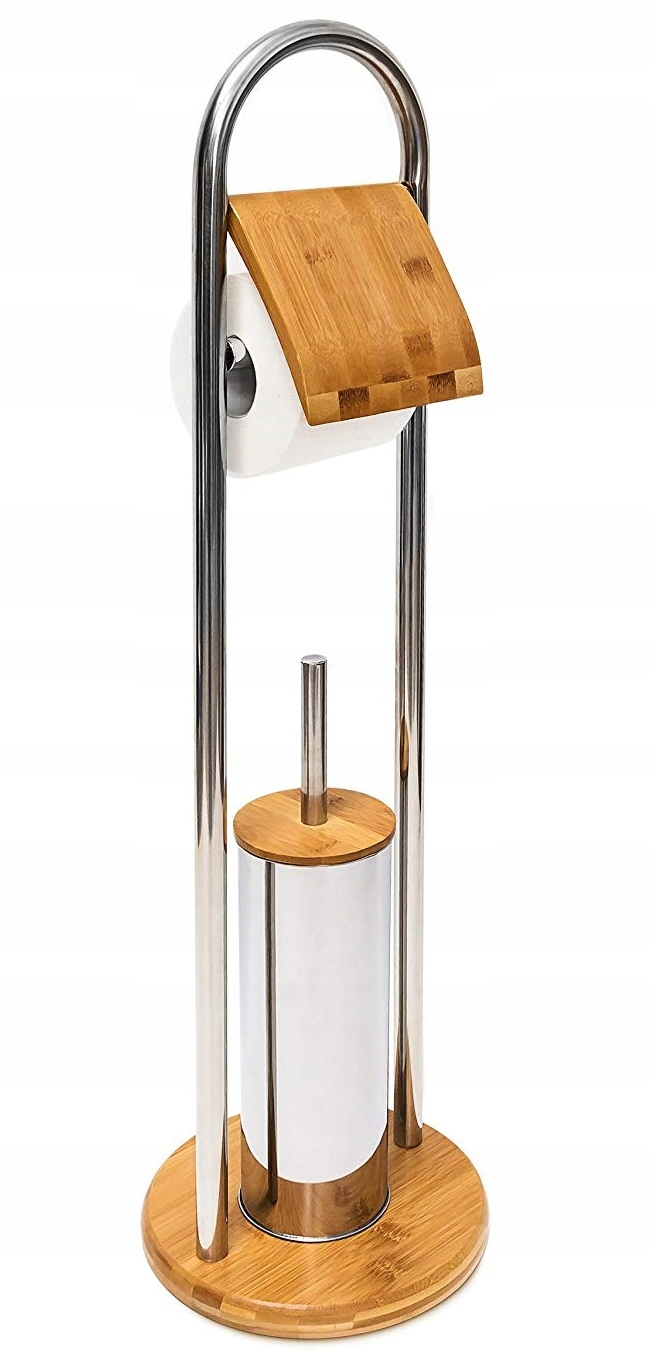 KARTA NA RACK TOILET PAPER BAMBOO HANDLE